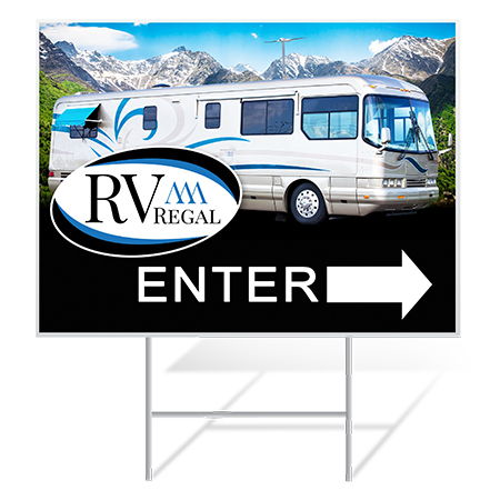 RV Dealership Yard Signs | Banners.com