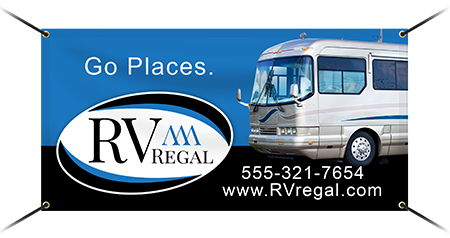 RV Dealership Vinyl Banners | Banners.com