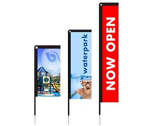 Rectangle Flag Templates | Banners.com