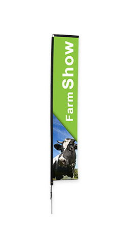Custom Rectangle Flags for Parks & Recreation | Banners.com