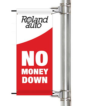 Promotional Pole Banners | Banners.com