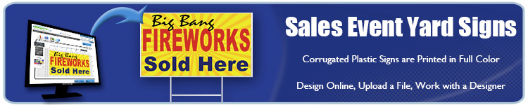 Sales Event Yard Signs - Order Custom Yard Signs for your Sale