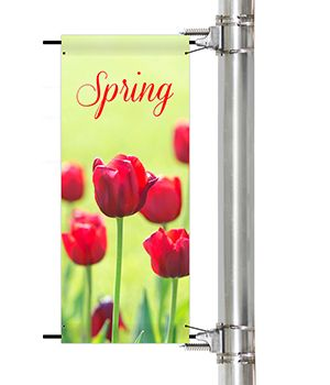 Seasonal Pole Banners | Banners.com