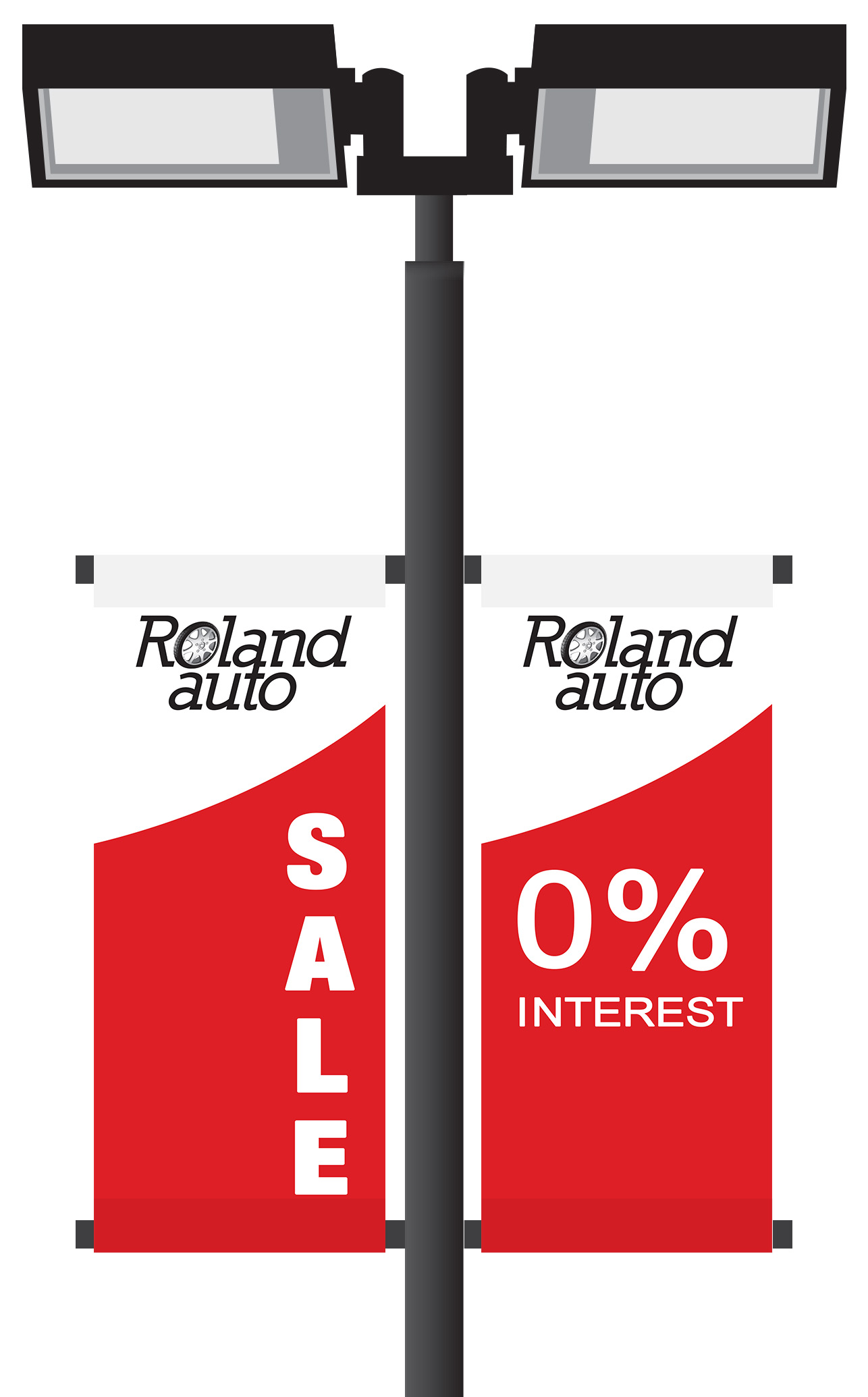 Car Dealership Pole Banners | Banners.com