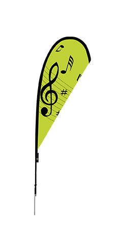 Custom Tear Drop Flags for Parks & Recreation | Banners.com