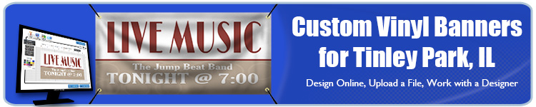 Custom Vinyl Banners for Tinley Park, IL from Banners.com