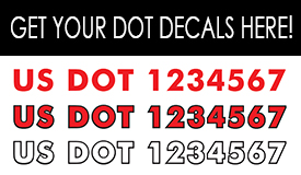 Get your DOT Decals from Banners.com