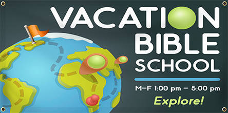 Religious Banner - VBS | Banners.com