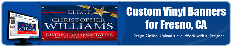 Custom Vinyl Banners for Fresno, CA from Banners.com