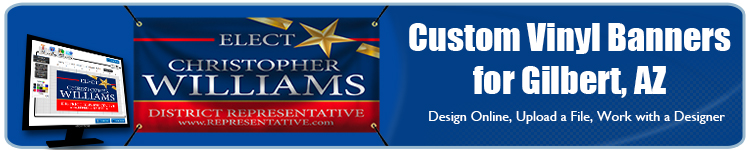 Custom Vinyl Banners for Gilbert, AZ from Banners.com