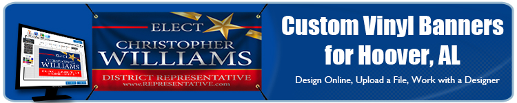 Custom Vinyl Banners for Hoover, AL from Banners.com