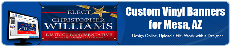 Custom Vinyl Banners for Mesa, AZ from Banners.com