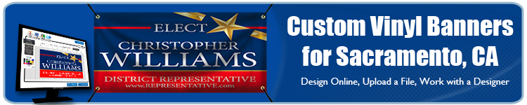 Custom Vinyl Banners for Sacramento, CA from Banners.com