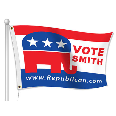 Custom Political Flags | Banners.com