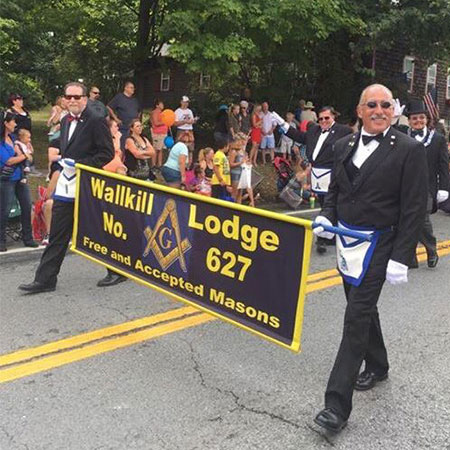Wallkill Lodge | Banners in Action