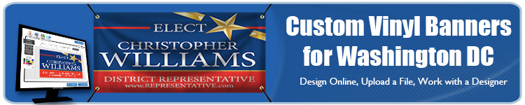 Custom Vinyl Banners for Washington DC from Banners.com