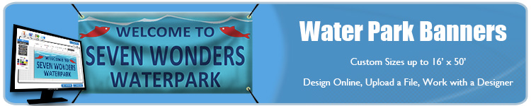Water Park Banners - Order Custom Vinyl Banners from Banners.com