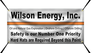 Oil Company Banners - Custom Vinyl Banners