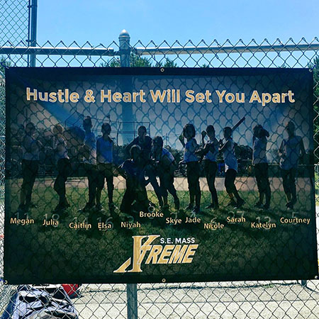 Xtreme Softball | Banners in Action