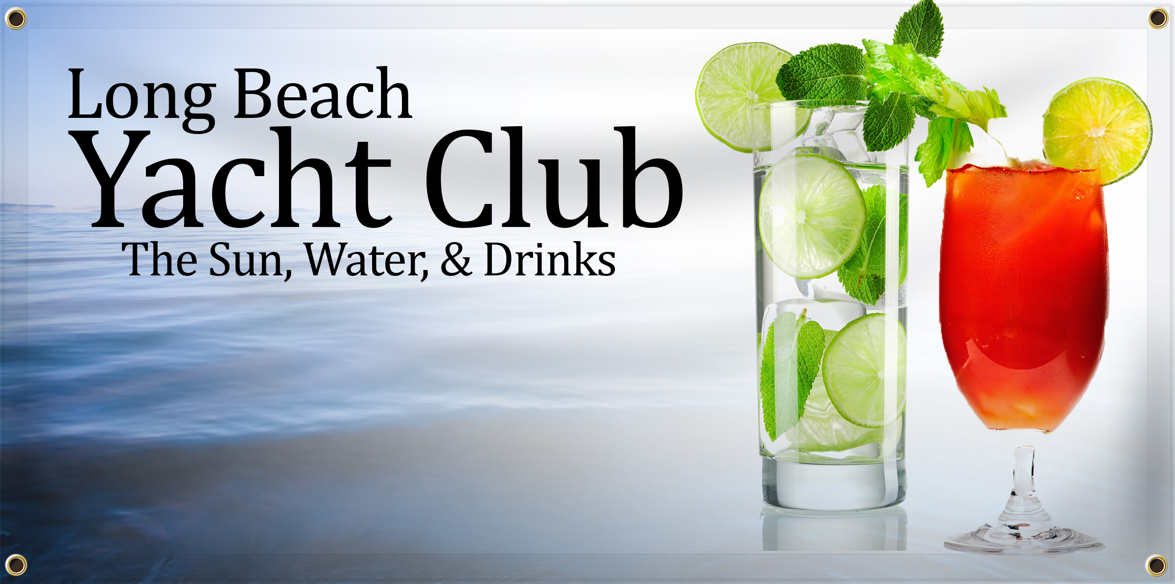 Yacht Club Banner | Banners.com
