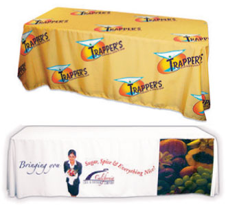 Full color table covers