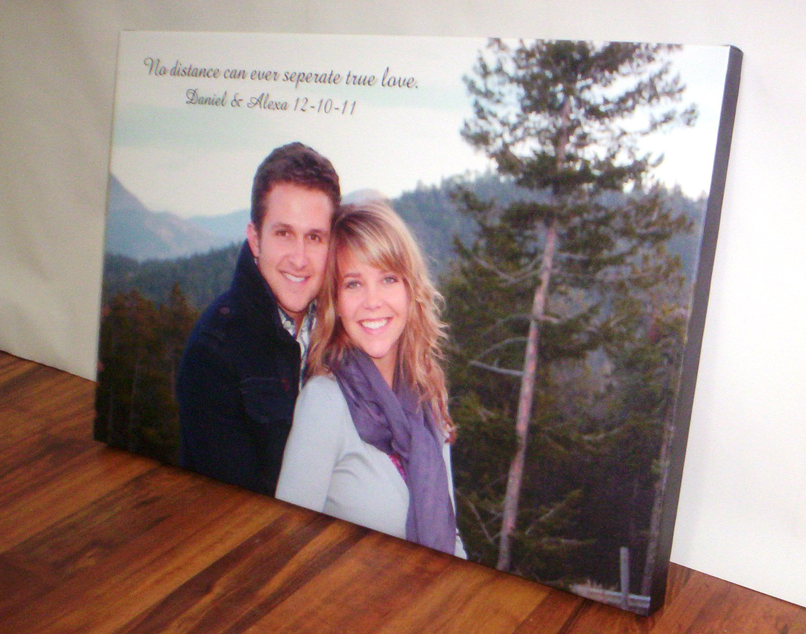 Wedding Present - Canvas Wall Art from SignMax