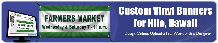 Custom Vinyl Banners for Hilo, HI from Banners.com